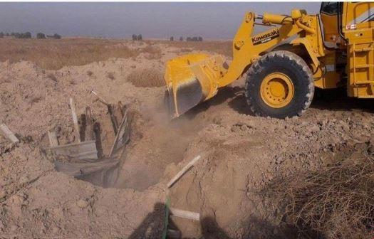 تدمير 5 أنفاق لداعش شمال الموصل