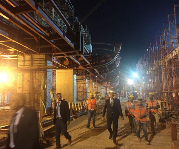 وزير النقل: افتتاح الجزء الأول من المرحلة الرابعة لـ الخط الثالث للمترو ديسمبر 2018