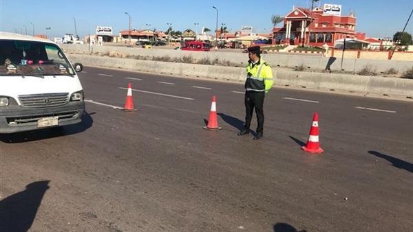 اغلاق محور الشهيد بمدينة نصر 3 أيام ﻹنشاء كوبرى