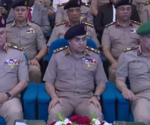 بالفيديو | وزير الدفاع يشهد تخريج دورات جديدة من دارسى أكاديمية ناصر