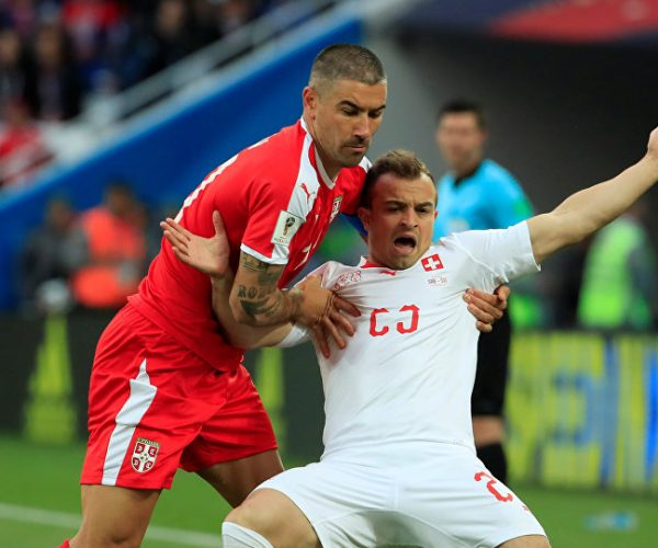 سويسرا الى ثمن النهائي لمواجهة السويد بالمونديال