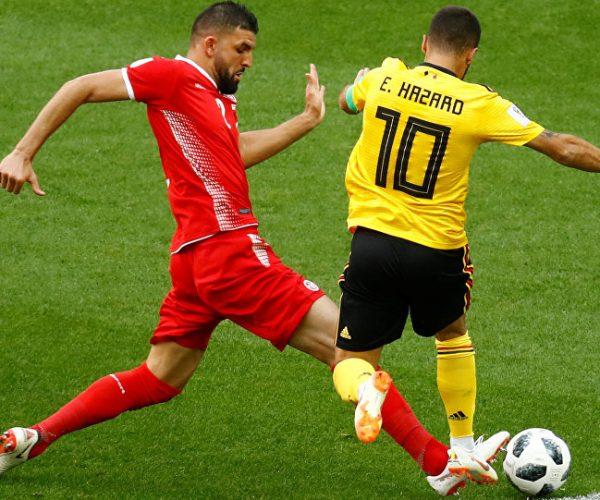 بلجيكا تحبط تونس وتضع قدما على حسابها في الدور الثاني لمونديال روسيا