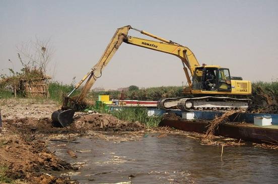إزالة 256 حالة تعد على أملاك الدولة والأراضي الزراعية ونهر النيل