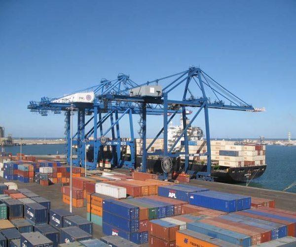 ميناء دمياط يستقبل 12 سفينة للحاويات والبضائع العامة