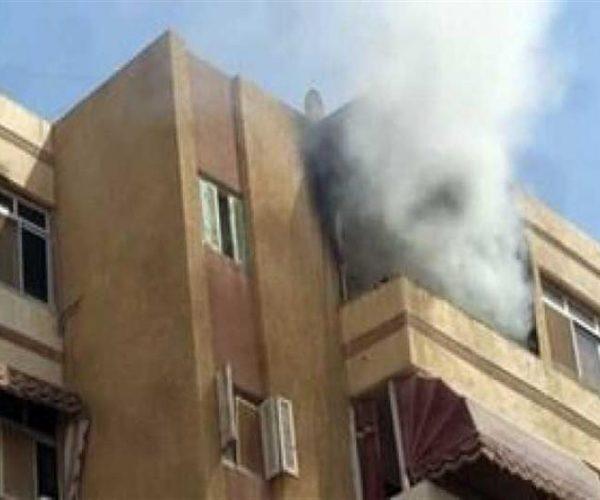 الحماية المدنية تسيطر على حريق نشب داخل شقة بحلوان