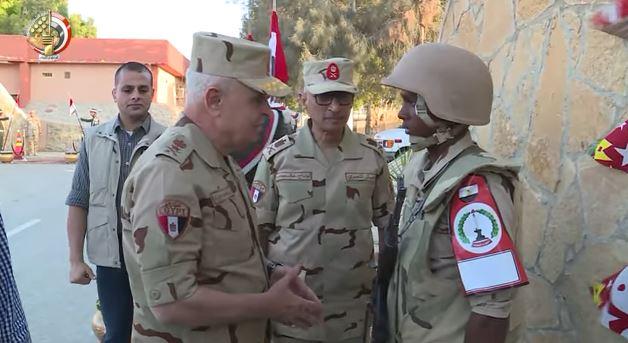 بالفيديو | رئيس الاركان : ما يتحقق من انجاز على ارض سيناء يبعث على الفخر