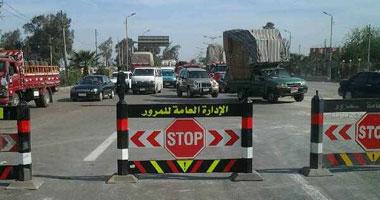 المرور: انتهاء أعمال إصلاحات الدائرى اتجاه المنيب