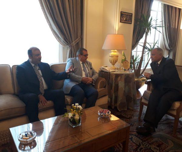 الغرف العربية تبحث مع ابو الغيط استعدادات القمة الاقتصادية العربية ببيروت