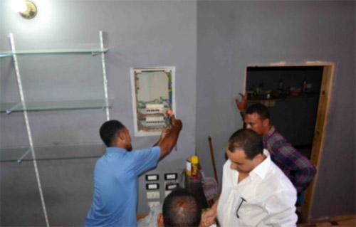 شرطة الكهرباء تضبط 10 آلاف قضية سرقة تيار في 24 ساعة