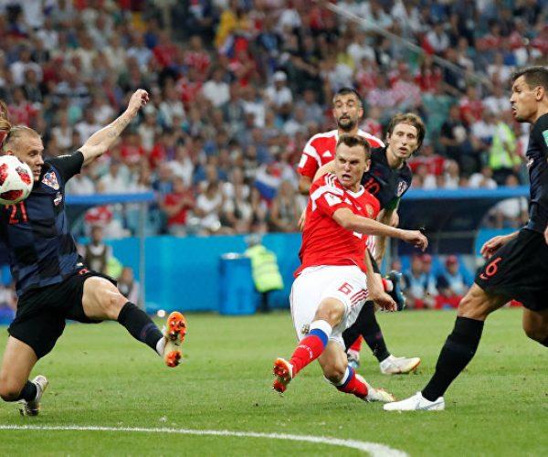 كرواتيا تقصي روسيا بركلات الترجيح وتلحق بانجلترا الى نصف النهائي