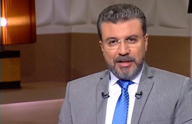 تكريم الاعلامي عمرو الليثي بمكتبة الإسكندرية