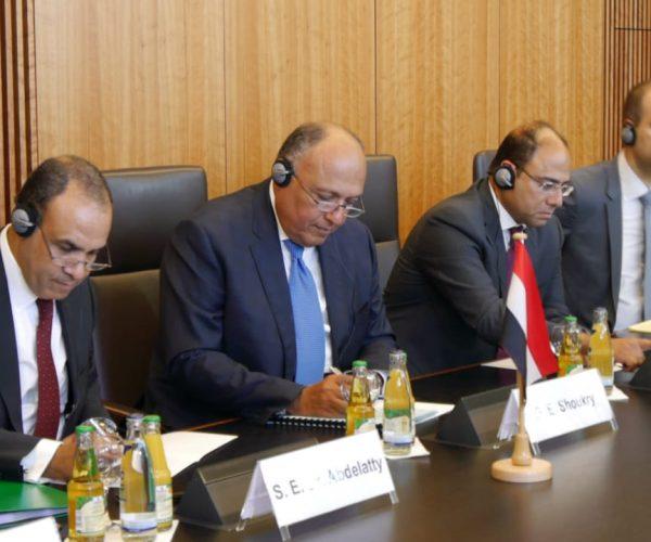 مؤسسة كوربر الألمانية تستضيف جلسة حوارية لوزير الخارجية