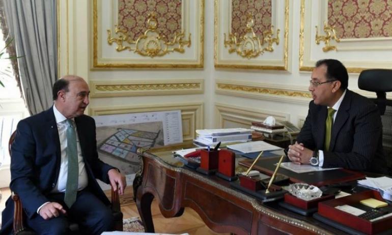 تفاصيل اجتماع رئيس الوزراء و الفريق مهاب مميش