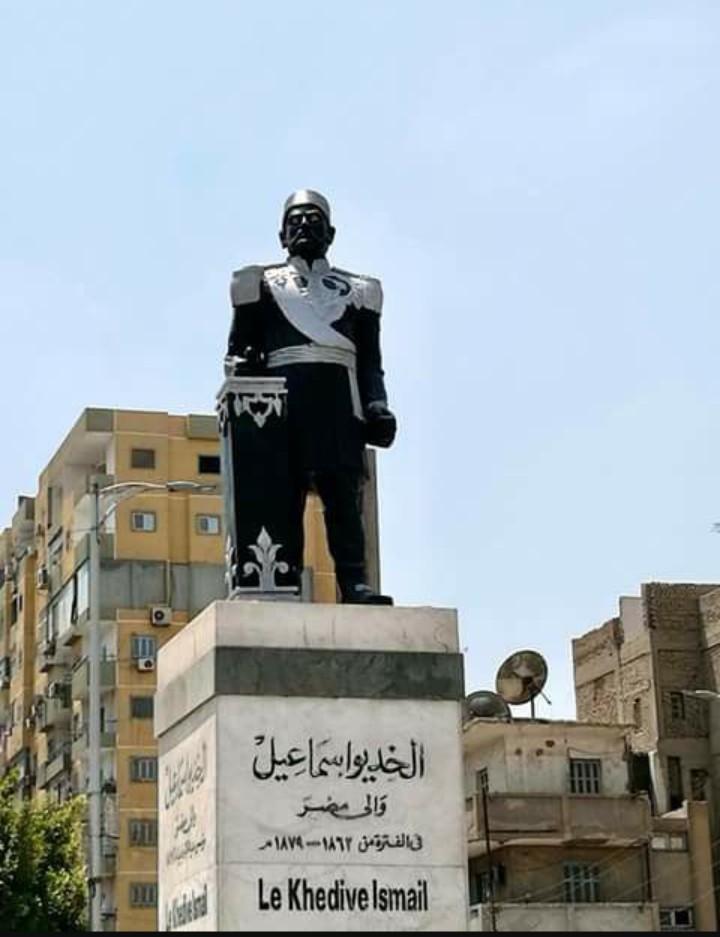 عبد الدايم تشكل لجنة لبحث اسباب تشوه تمثال الخديوي اسماعيل