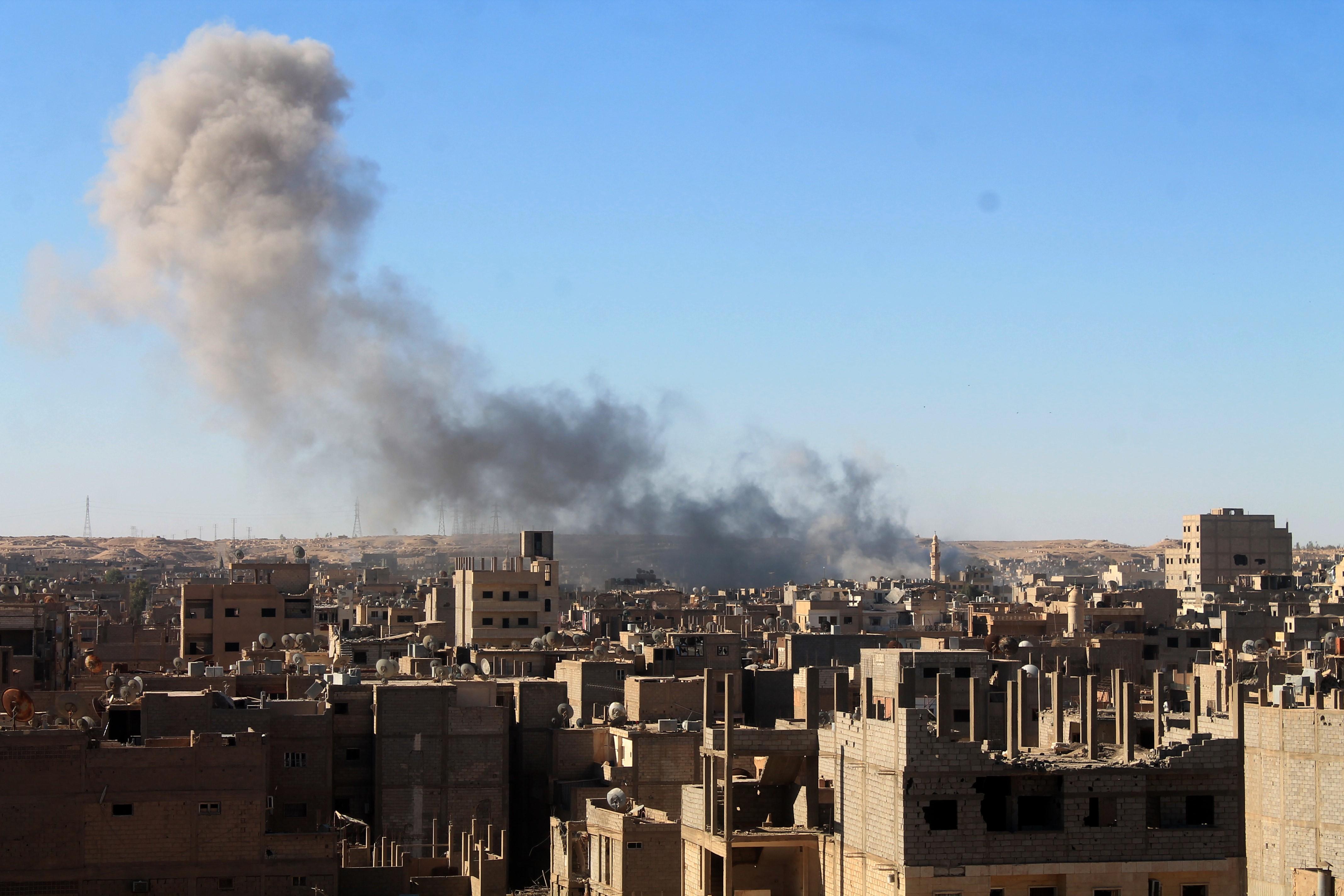 الجماعات الإرهابية تواصل خرق اتفاق منطقة خفض التصعيد في سوريا