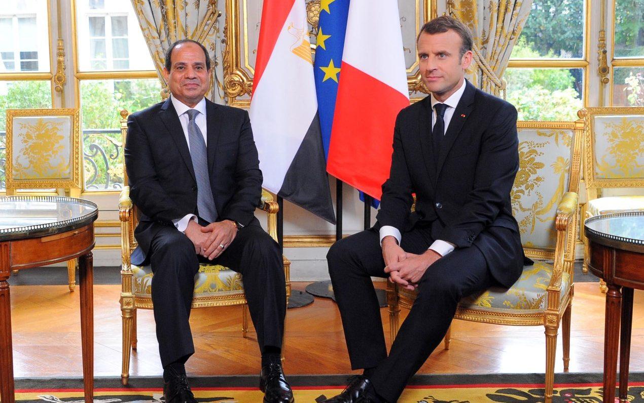 الرئاسة الفرنسية: ماكرون يستقبل الرئيس السيسي فى قصر الإليزيه الإثنين المقبل