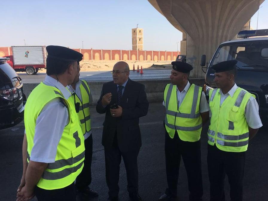 الإدارة العامة للمرور تضع خطة لتكثيف الخدمات في العيد