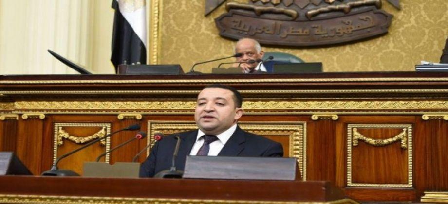 """وكيل إعلام """"النواب"""": مصر تؤيد جهود إعادة إعمار سوريا"""