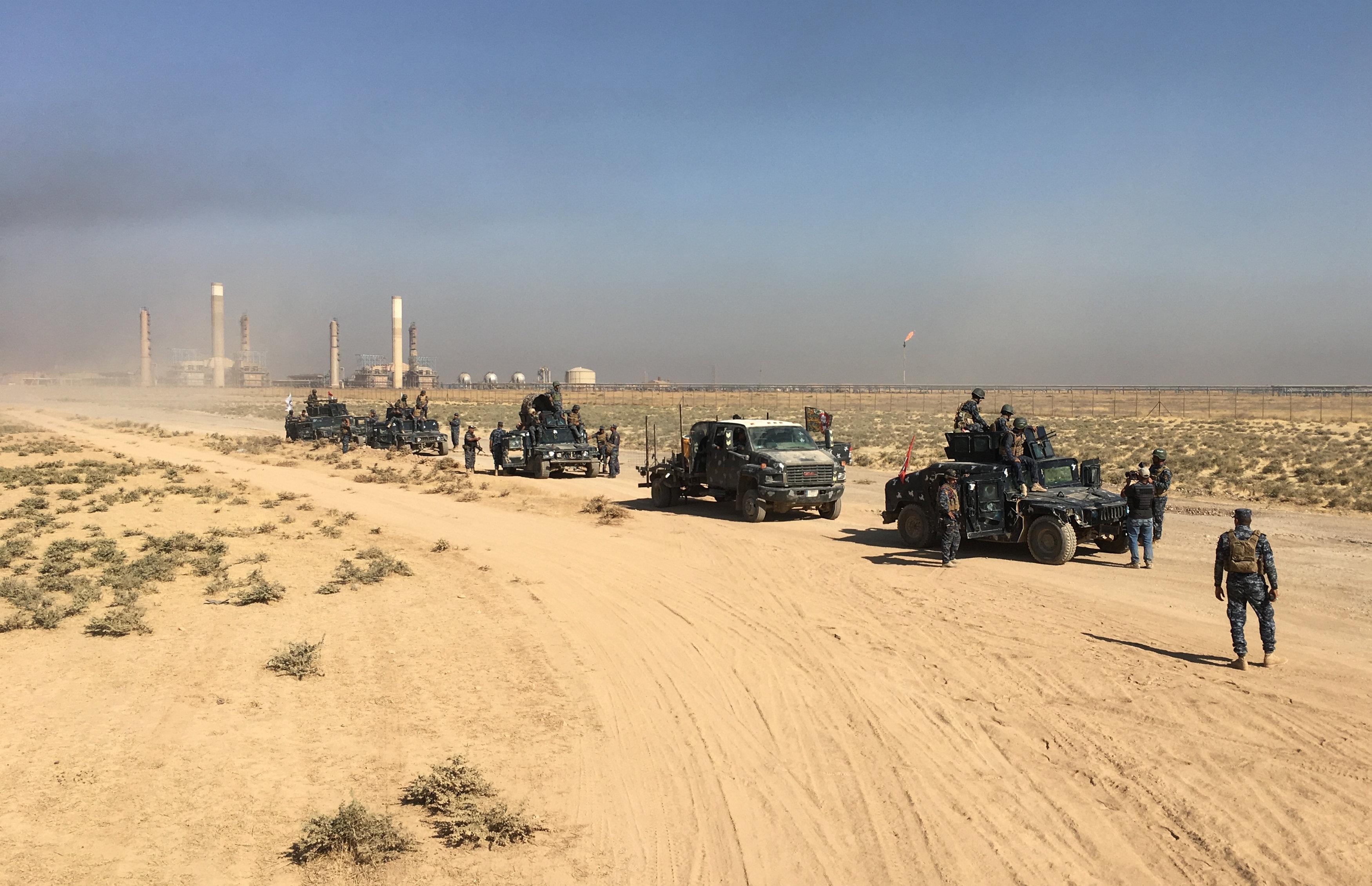 مقتل 4 إرهابيين بينهم انتحارى فى عملية أمنية بمدينة سامراء