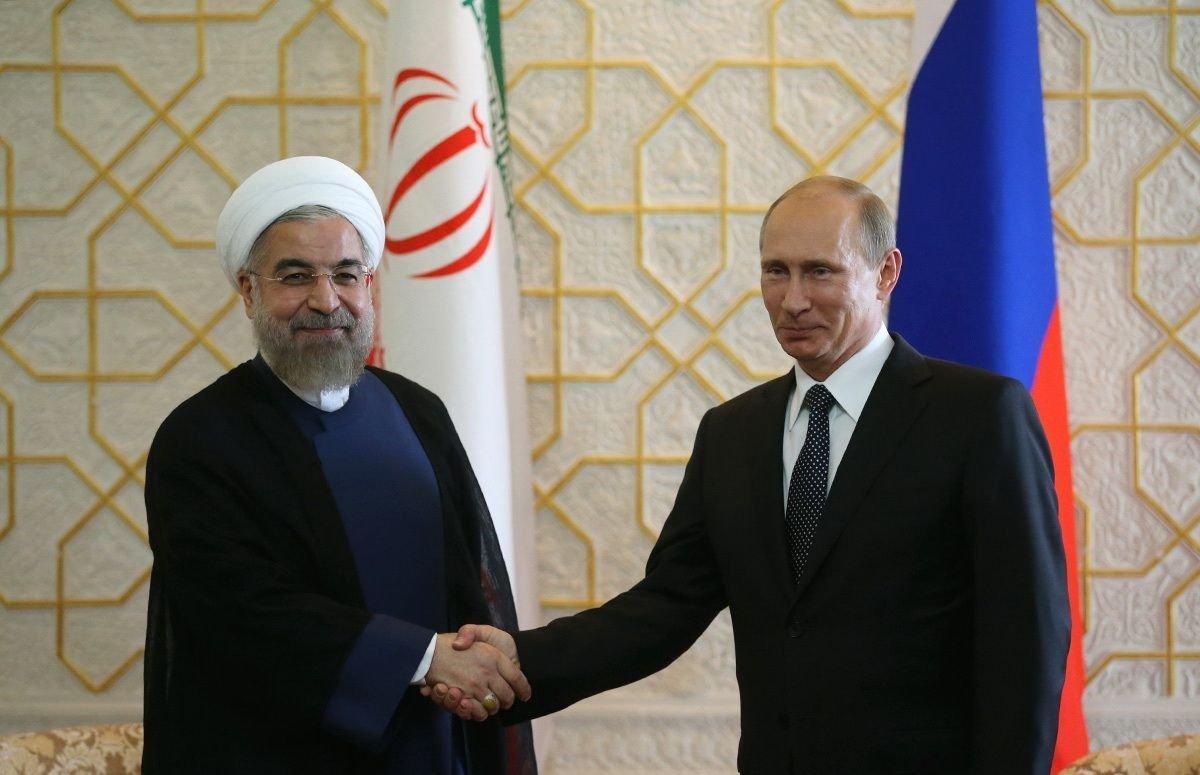 الكرملين : بوتين بحث مع روحاني العلاقات الثنائية والوضع في سوريا