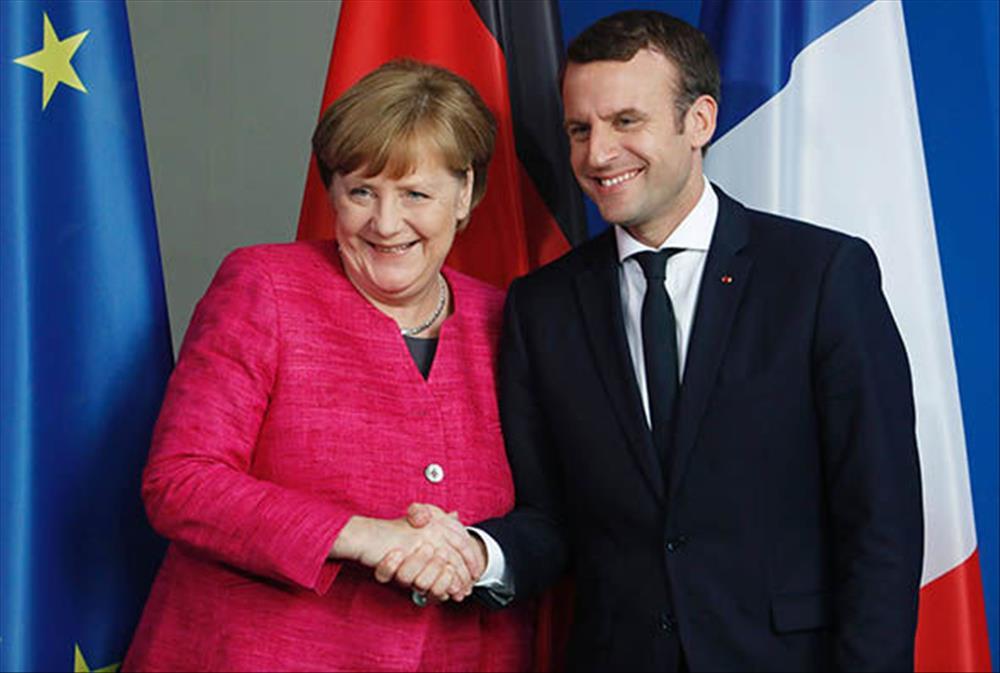 خروج بريطانيا من الاتحاد الأوروبي تتصدر مناقشات ماكرون وميركل أواخر الشهر الجاري
