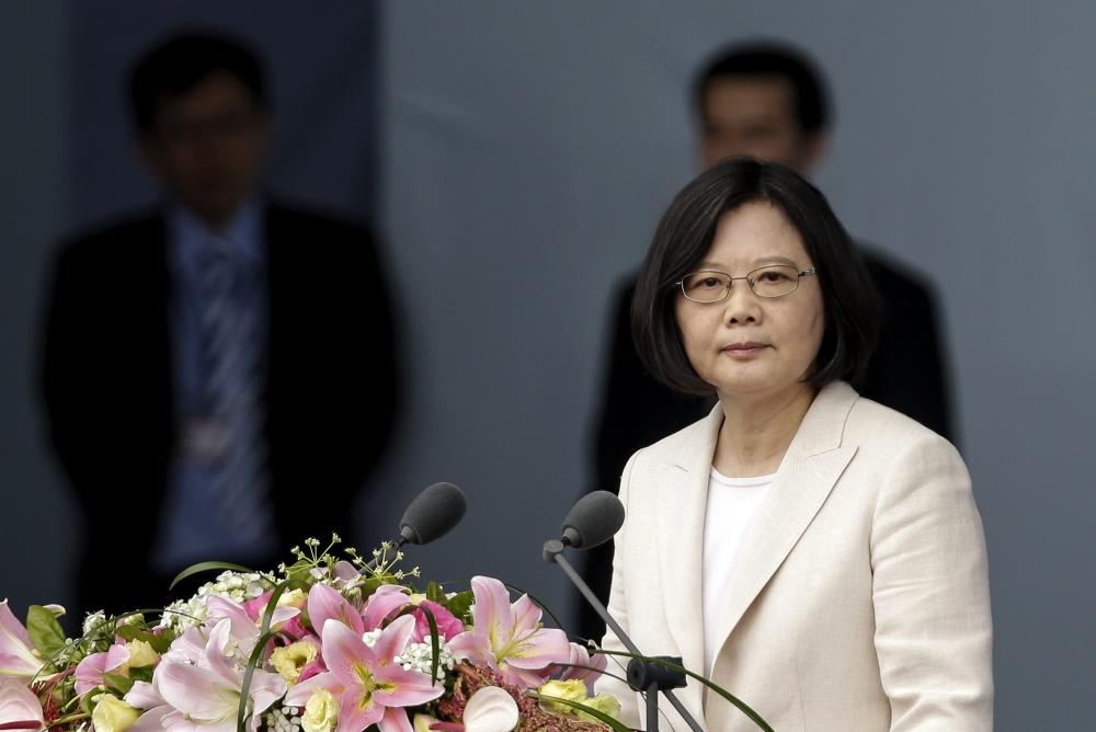 رئيسة تايوان تبدأ جولة خارجية تتوقف خلالها فى الولايات المتحدة