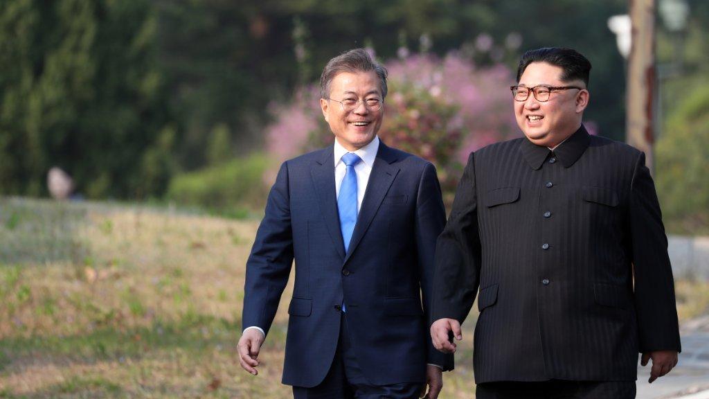 رئيس كوريا الجنوبية يطالب البرلمان بالمصادقة على بيان «بانمونجوم»
