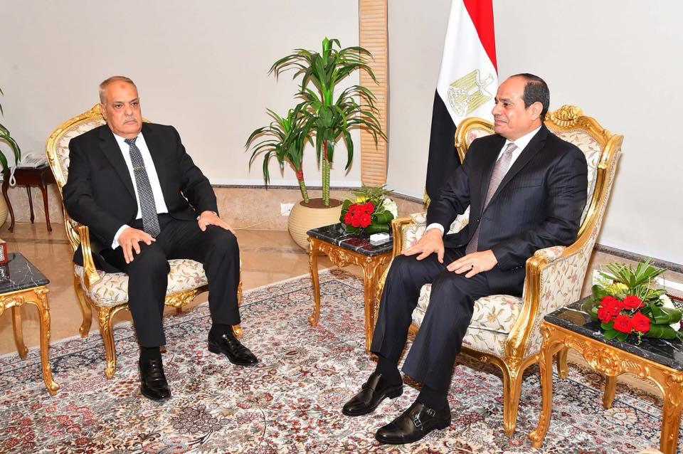 الرئيس السيسي يكلف الفريق عبدالمنعم التراس برئاسة الهيئة العربية للتصنيع