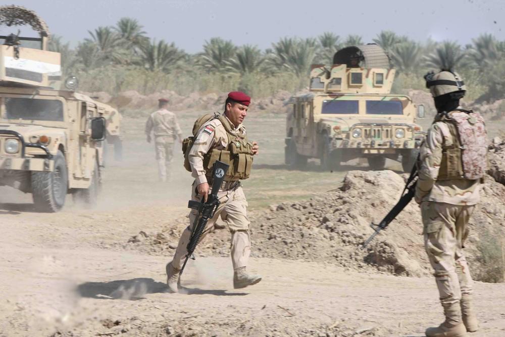 """بدء عملية عسكرية لملاحقة خلايا """"داعش"""" شرقي بغداد"""