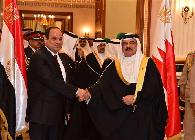 الرئيس السيسي والعاهل البحريني يتبادلان التهاني بمناسبة عيد الأضحى المبارك