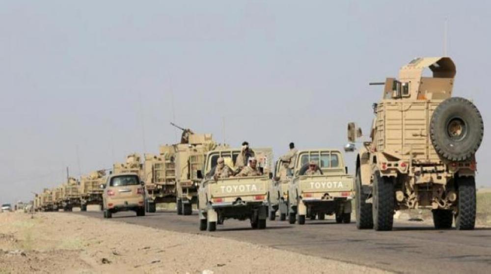 الجيش اليمنى يواصل تضيق الخناق على ميليشيات الحوثى فى مركز باقم