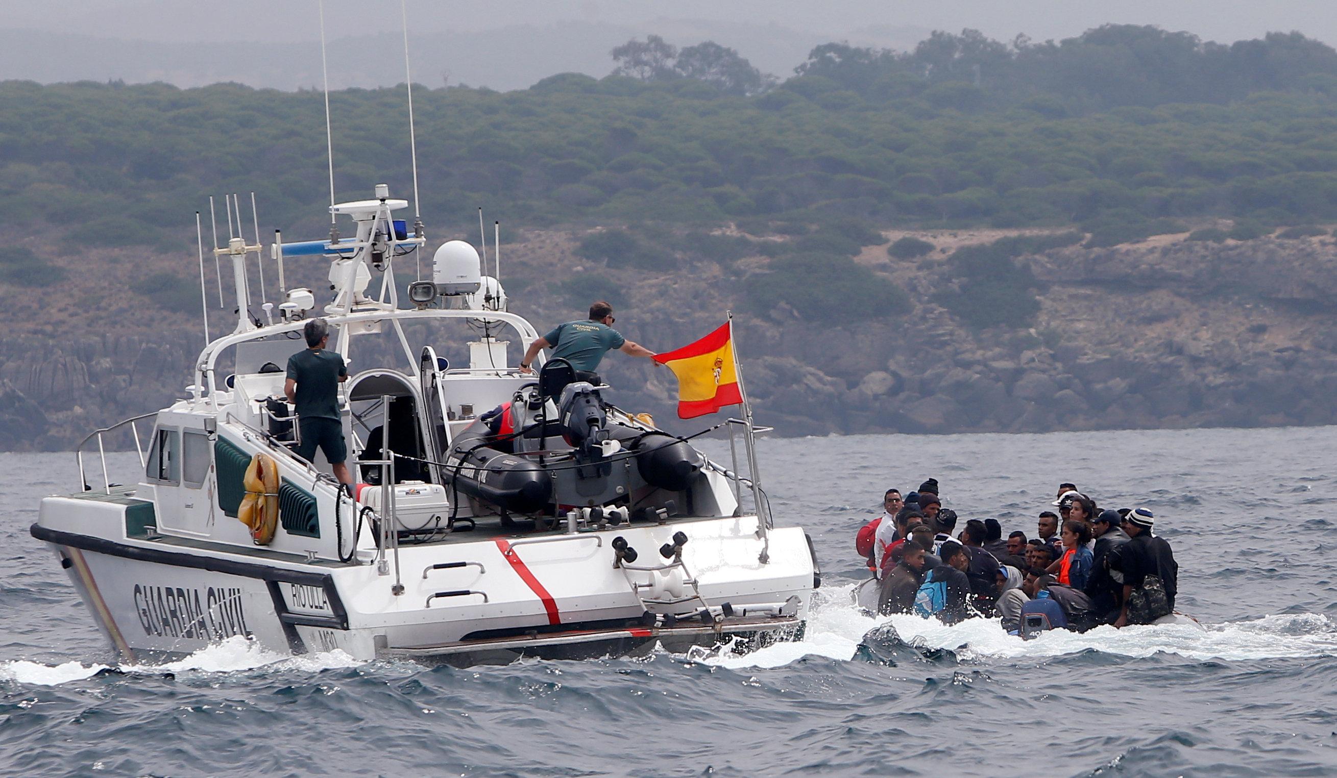 البحرية الإسبانية تتمكن من إنقاذ 59 مهاجرا غير شرعيا من المتوسط