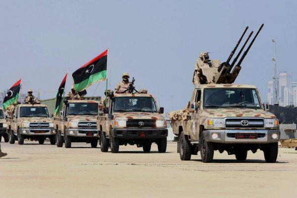 الجيش الليبى : دفعة أولى من المرتزقة السوريين نزلت إلى شوارع طرابلس