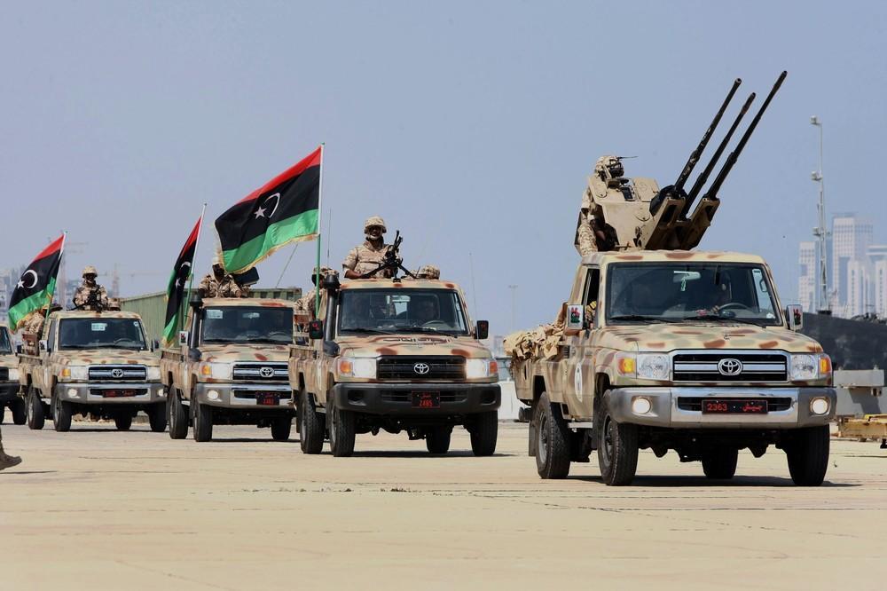 الجيش الوطني الليبي يسيطر على طريق المطار في طرابلس
