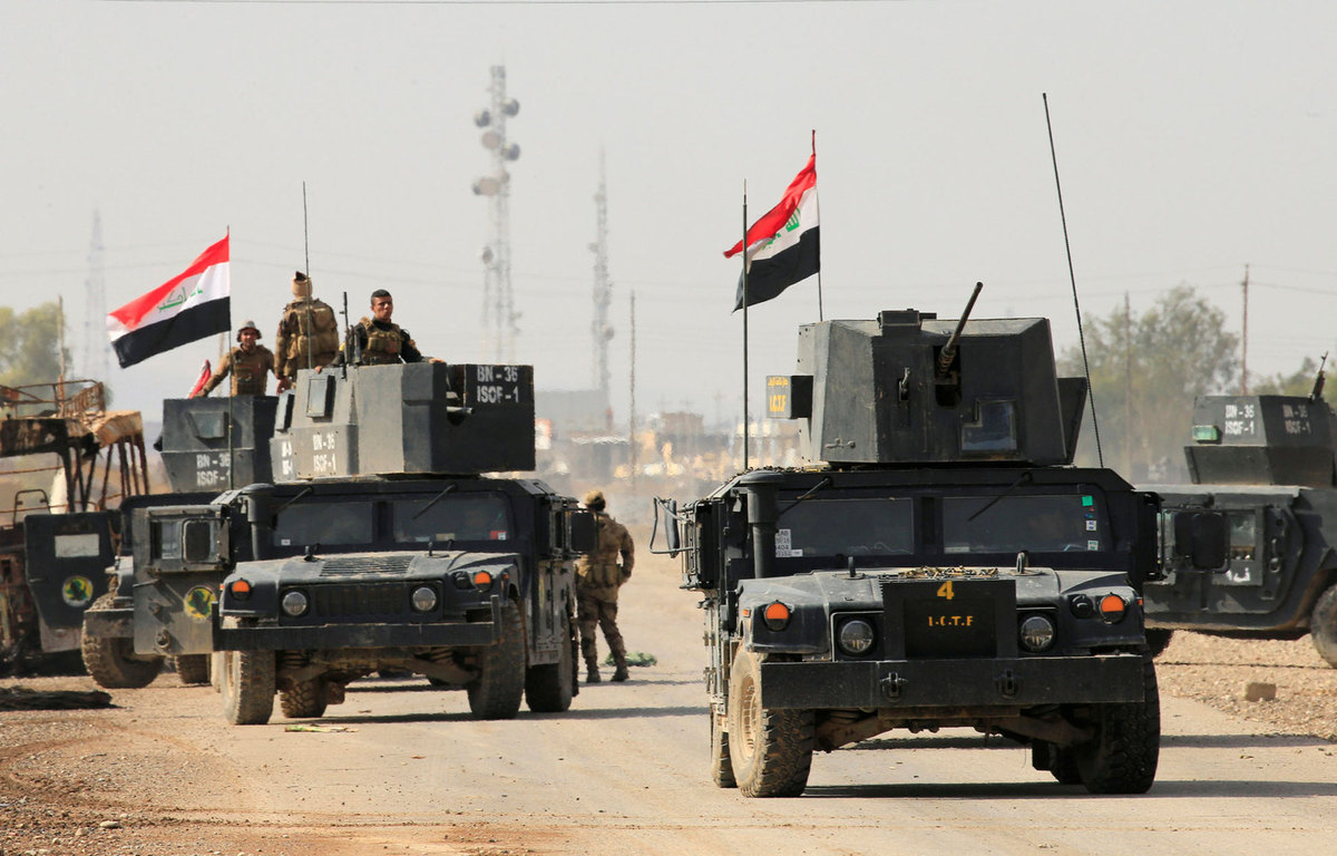 الداخلية العراقية تعتقل عنصرين من داعش في مدينة الموصل