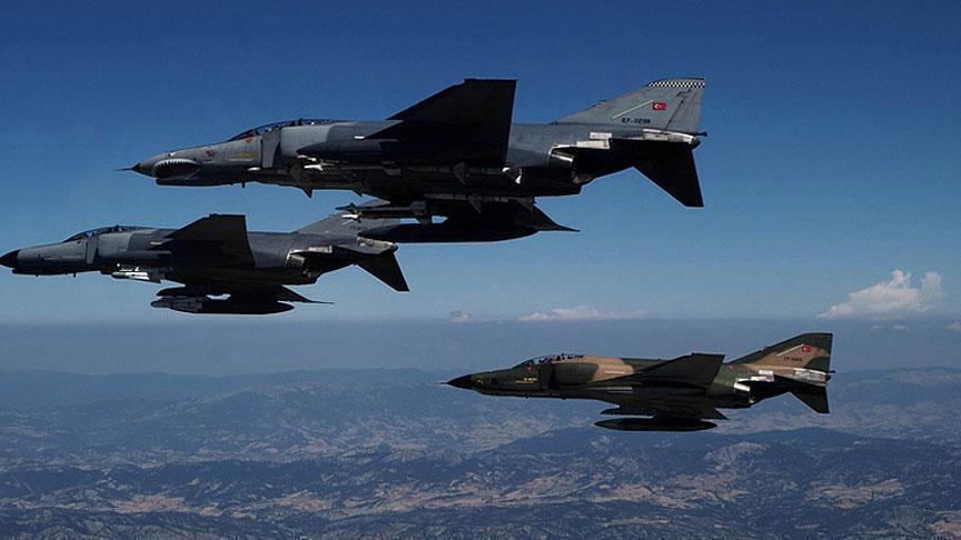 الطائرات التركية تخترق الأجواء العراقية وتنفذ ضربتين جويتين
