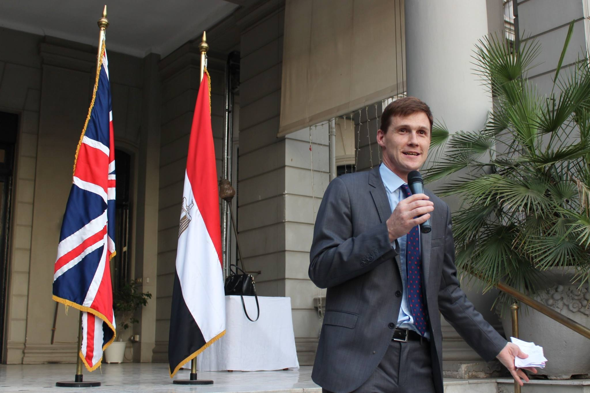 جون كاسن : الشركات البريطانية على استعداد لدعم رؤية مصر للتعليم التنموي