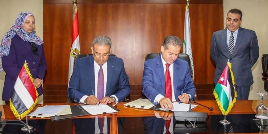 البريد المصري يوقع بروتوكولا مع نظيره الأردني في مجال تحويل الأموال