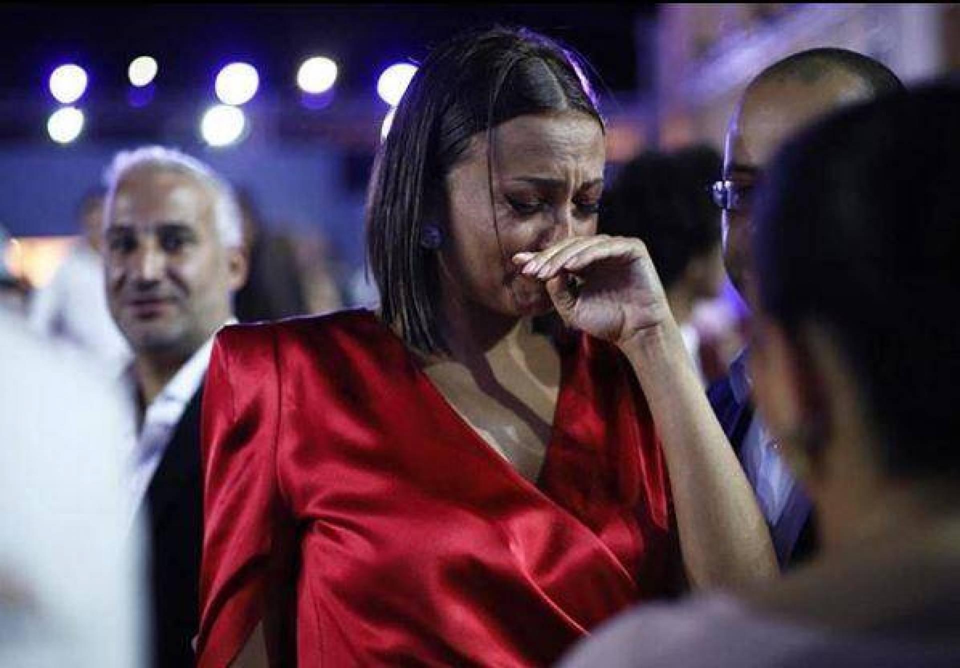"""بشرى تبكي من أجل """"يوسف شاهين"""""""