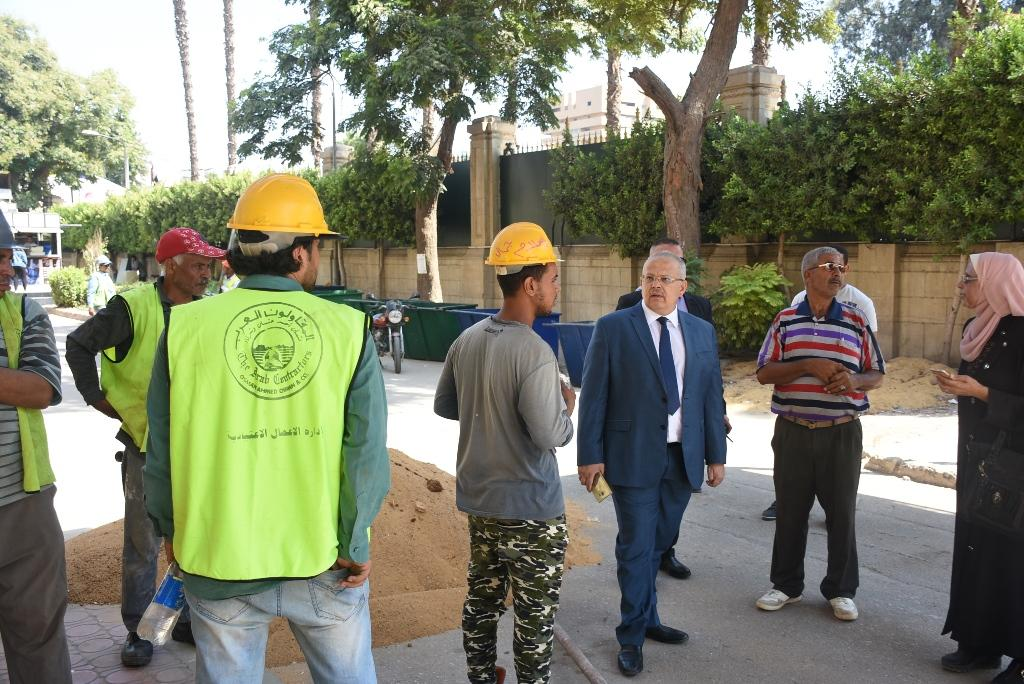 انتهاء أعمال التطوير والصيانة بجامعة القاهرة