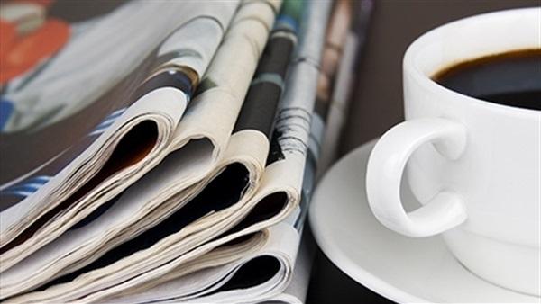 توعد السيسي متسببي حادث قطار سوهاج بالجزاء الرادع يتصدر اهتمامات صحف اليوم