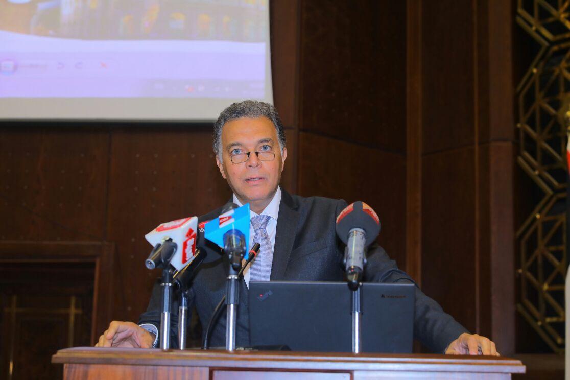 نص كلمة وزير النقل في  الحوار المصري الإيطالي حول القطاع البحري