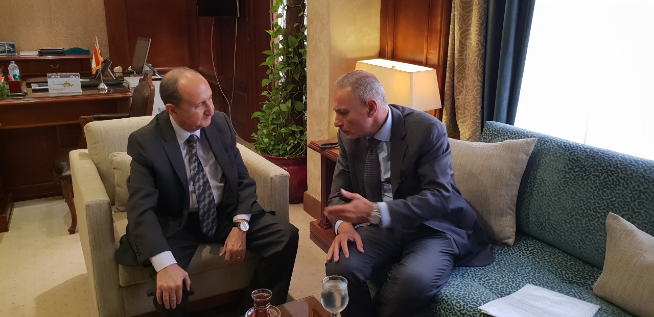 نصار يبحث مع أمين الاتحاد من أجل المتوسط تعزيز التعاون