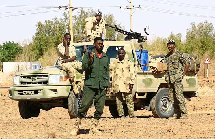 السودان : إحباط تهريب 154 شخصا من ضحايا الهجرة غير الشرعية والإتجار بالبشر