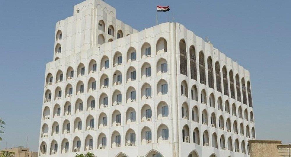 الخارجية العراقية تدين قصف موقع قرب السفارة الأمريكية