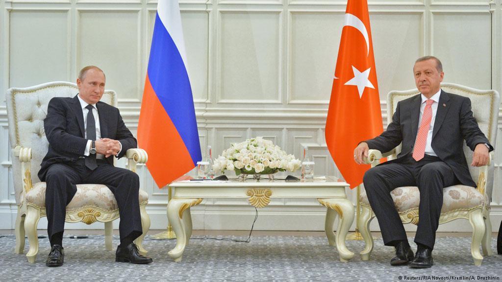 بوتين وأردوغان ولقاء بشأن الأزمة السورية .. بداية محورية لتسوية سلمية
