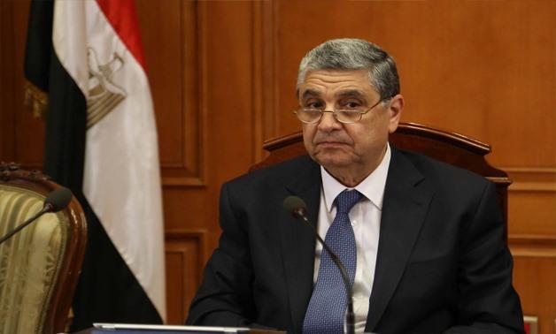 وزير الكهرباء ينعي وزير الإنتاج الحربي الفريق محمد العصار