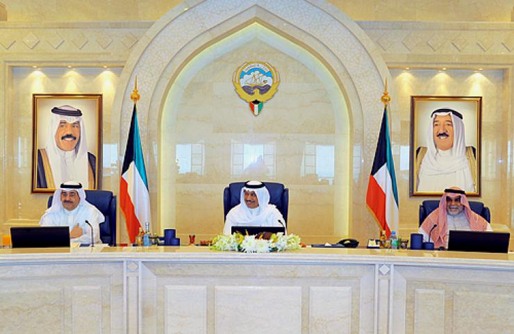 مجلس الوزراء الكويتي يرحب بزيارة ولي العهد السعودي المرتقبة للكويت