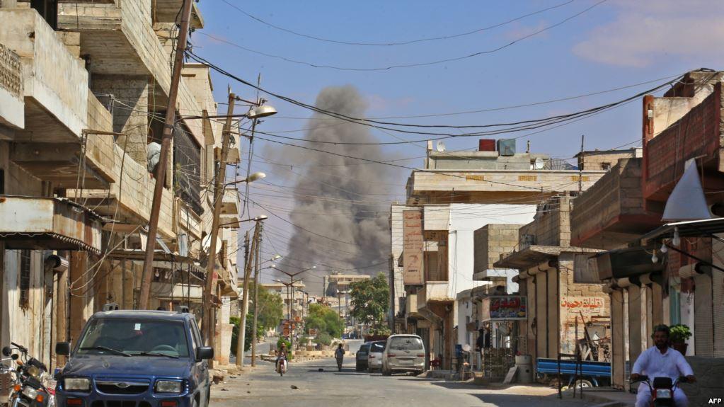 موسكو : مغادرة أكثر من 1000 مسلح المنطقة منزوعة السلاح في إدلب بسوريا