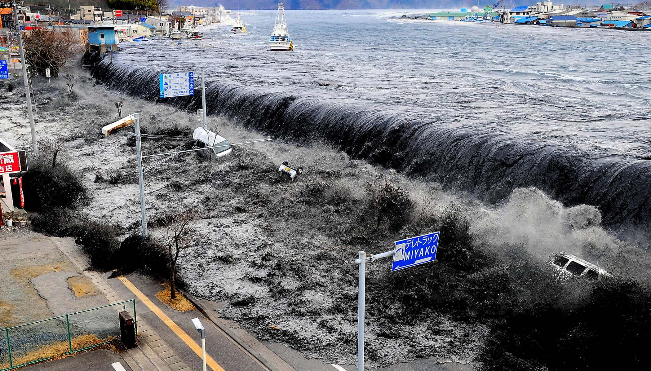 تسونامي جديد يضرب إندونيسيا بموجات ارتفاعها 2 متر